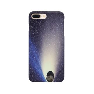 にゃんお黒 Smartphone cases