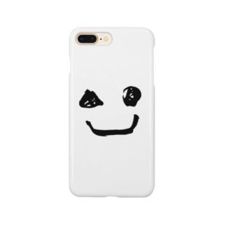 墨ニコちゃん Smartphone cases