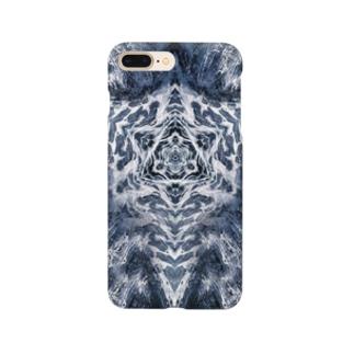 波模様/カラー03 Smartphone cases