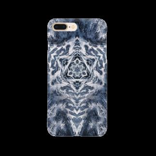 momenkoTWの波模様/カラー03 Smartphone cases