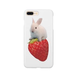 うさいちご Smartphone cases