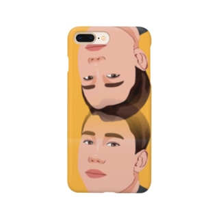monkey-hero yellow type Smartphone Case
