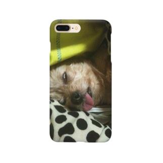 悪意の塊ココちゃんケース Smartphone cases