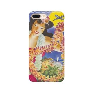ハワイ ユナイテッド・エアライン Smartphone cases