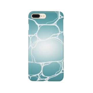 コバルトブルーの海 Smartphone cases