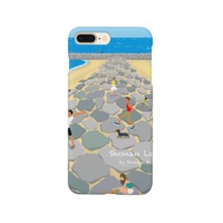 湘南デザイン室:Negishi Shigenoriの湘南ランドスケープ05:茅ケ崎ヘッドランド Smartphone cases