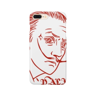 GraphicersのRed DALI Smartphone cases
