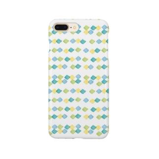 ダイヤ柄 Smartphone cases