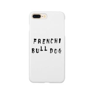 フレンチブルドッグ Smartphone cases