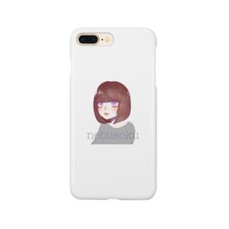 ねぶそくちゃ Smartphone cases