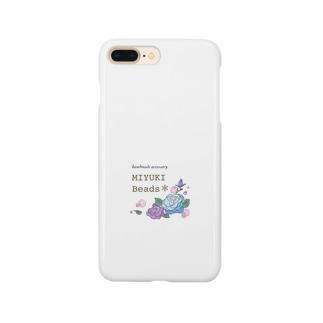 MIYUKI Beads ロゴグッズ Smartphone cases
