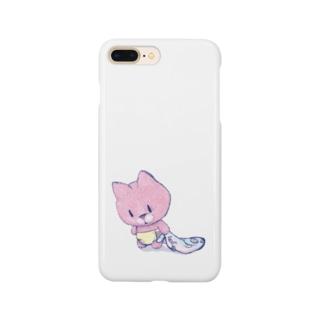 だって・・・猫 Smartphone cases