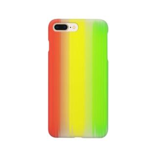 ネオンラスタ Smartphone cases