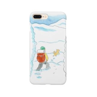 クライマーの冒険 Smartphone cases