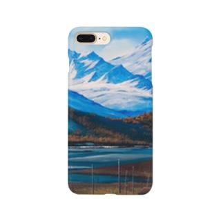 アラスカ・雪解け Smartphone cases