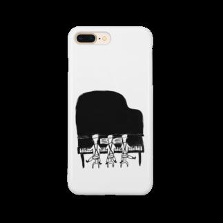 室井雑貨屋のピアノトリオ Smartphone cases