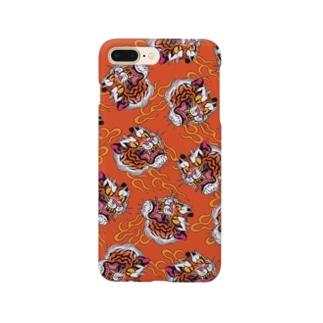 灼熱虎 Smartphone cases