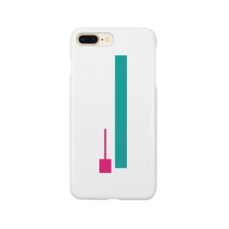 快眠できるタイプのローソク足 Smartphone cases