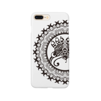 星月夜蝶曼荼羅 Smartphone cases