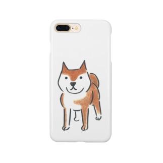 ぼうけんの相棒 柴犬編 Smartphone cases