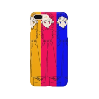 三つ編み野郎 Smartphone cases