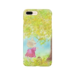ネコと木 Smartphone cases
