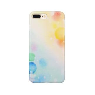 虹色シャボン玉 Smartphone cases