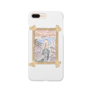 ゆるかわムンク Smartphone cases