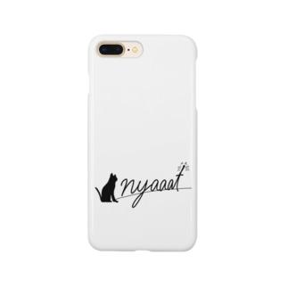 nyaaat公式ネコアイテム Smartphone Case