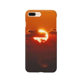 パワースポットの太陽 Smartphone cases