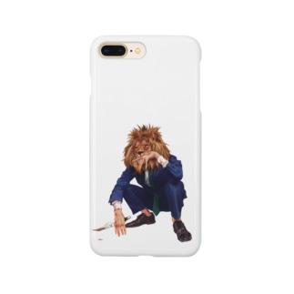 Mr.ライオンヘッド Smartphone Case
