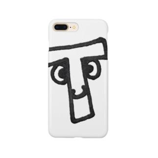"""yurumoji """"T"""" Smartphone Case"""