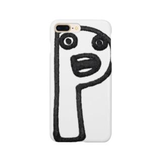 """yurumoji """"P"""" Smartphone Case"""