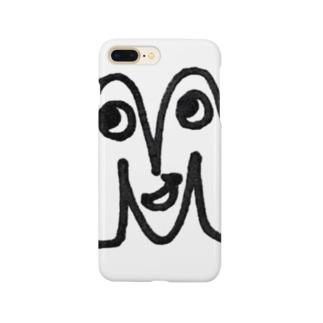 """yurumoji """"M"""" Smartphone Case"""