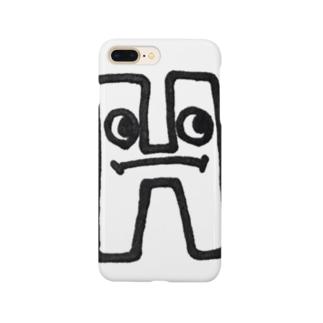 """yurumoji """"H"""" Smartphone Case"""