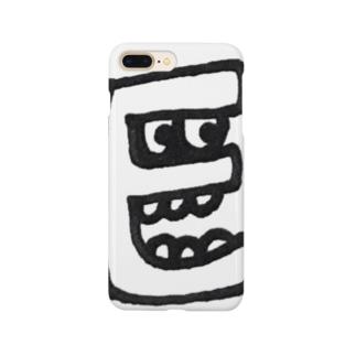 """yurumoji """"E"""" Smartphone Case"""