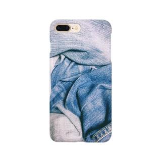 デニム風が好きなの? Smartphone cases