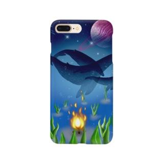 海は宇宙 Smartphone cases