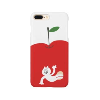 リンゴから猫 Smartphone cases