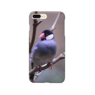 文鳥 Sentenced bird Smartphone cases