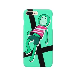 おさるさんスマホケース Smartphone cases