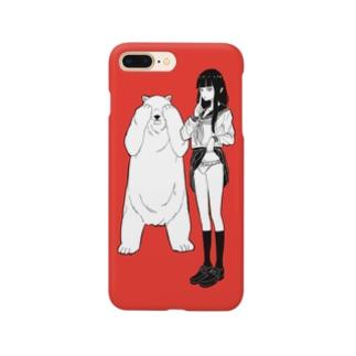 ふりふりのおぱんつケース Smartphone cases