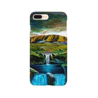 ウルルの滝 Smartphone cases