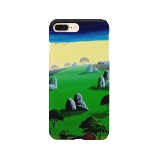 奇岩の丘 Smartphone cases