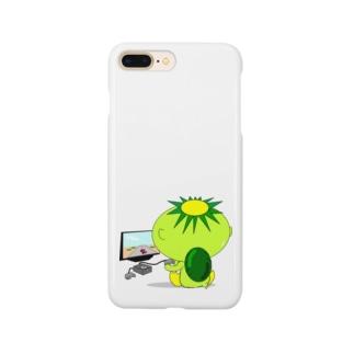 レトロゲーマーかっぱ Smartphone cases