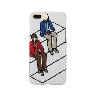 山田と五十嵐 Smartphone cases