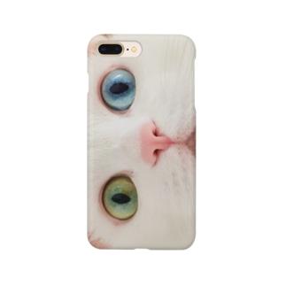 ねこマスク Smartphone cases