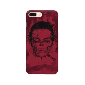 サムライフィクション血塗れver. Smartphone cases