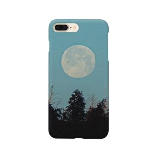 おひるのおつきさま Smartphone cases