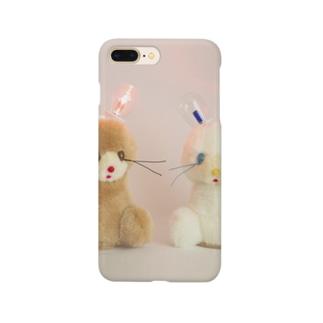 ペヘモリッケの お耳ひかるちゃん(赤)  Smartphone cases